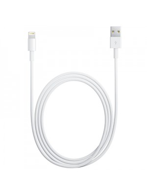 USB кабель для iPad 5/ Air 2/ 4/ mini/ iPhone 6 Plus/ 6/ 5/ 5s/ iPod touch 5/ nano 7 (для iOS 7) белый