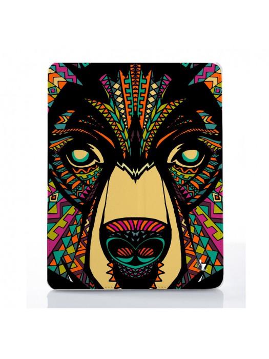 Чехол для iPad Animal Aztec медведь