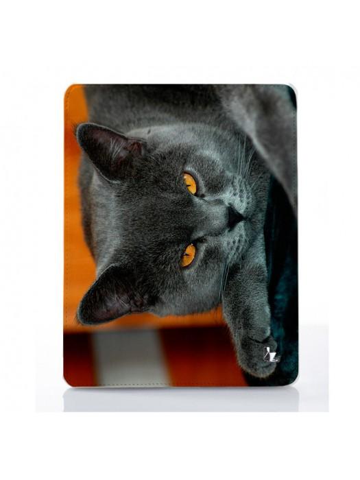 Чехол для iPad Кот шотландец