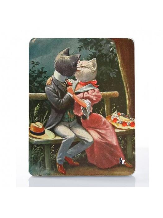 Чехол для iPad Коты любовники