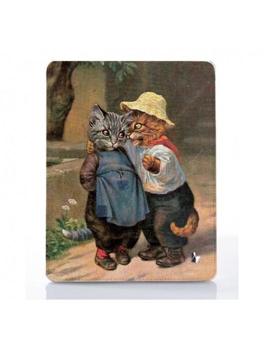 Чехол для iPad Котята верные друзья