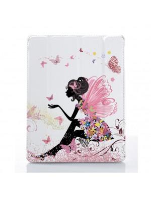 Цветочная девушка с зонтом