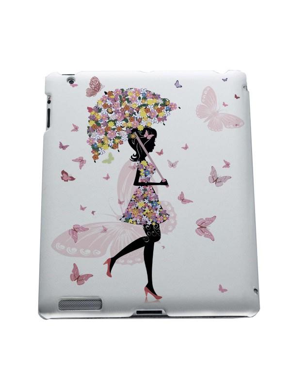 Арт, искусство, приколы - Цветочная девушка с зонтом