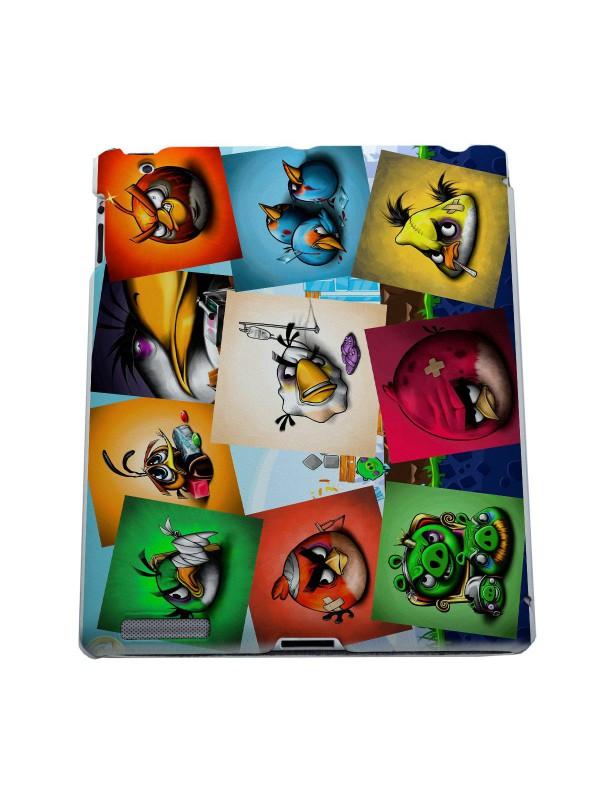 Мультфильмы, игры, герои - Angry birds коллаж победы