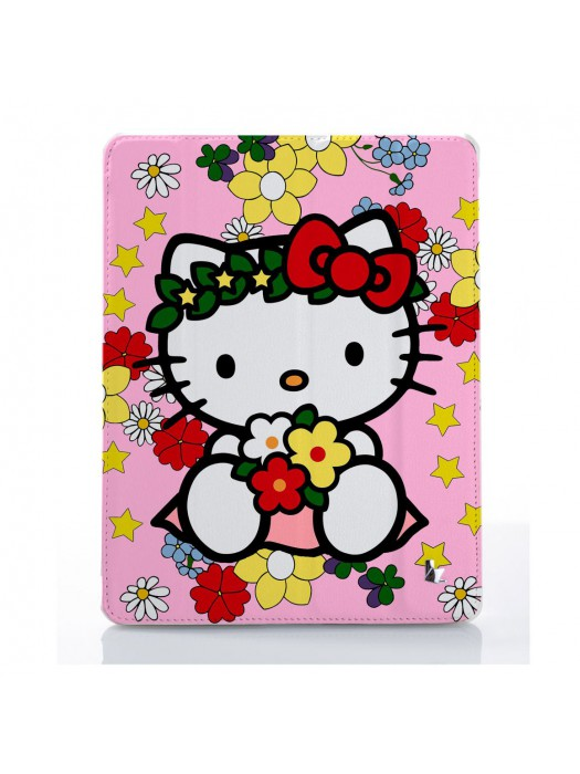 Чехол для iPad Hello kitty венок