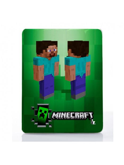 Чехол для iPad Minecraft зеленый монстр