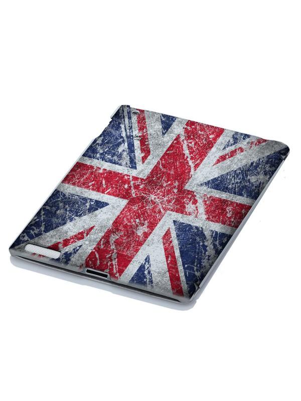 Флаги, города - Великобритания мелом на стене