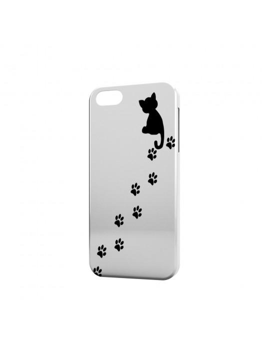Животные кот следы