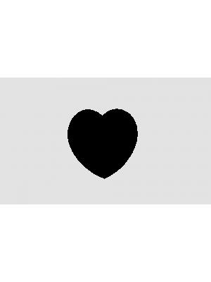 Печать на магнитах сердце 9.5 см