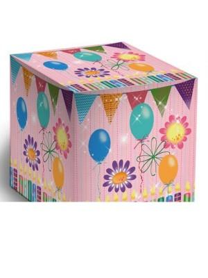 Коробка С днем рождения