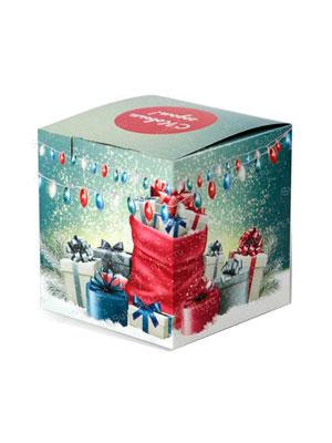Коробка новогодние подарки