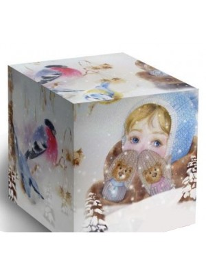 Коробка Варежки