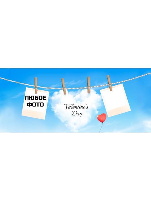 Кружка  Валентинов день