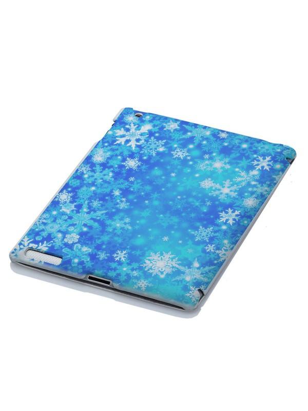Новогодние - Новогодний голубые снежинки