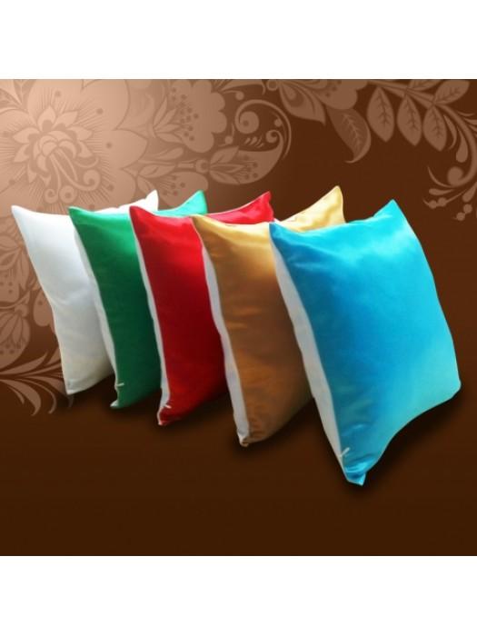 Фото на цветной подушке 34х34 см