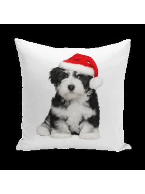 Собака новогодняя 2